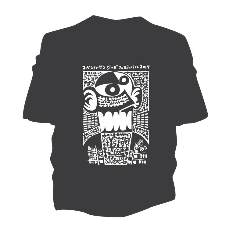 Image of Øko Japan T-Shirt – Copenhagen Jazz Festival 2017