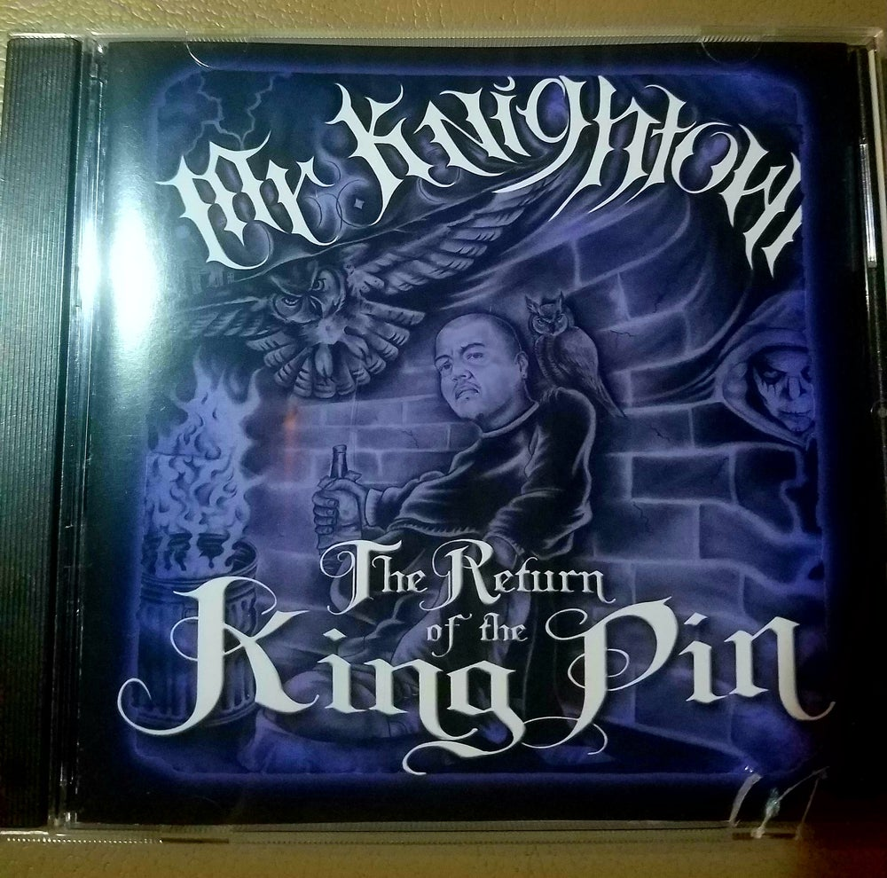 Image of Mr. Knightowl The Return of the Kingpin-CD