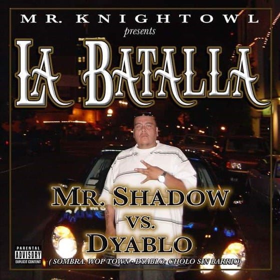 Image of La Batalla (Mr. Shadow vs. Dyablo)-CD
