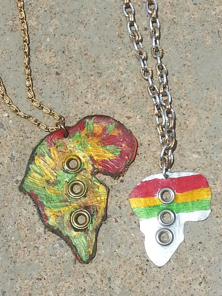 Image of Africa Necklace/Belt