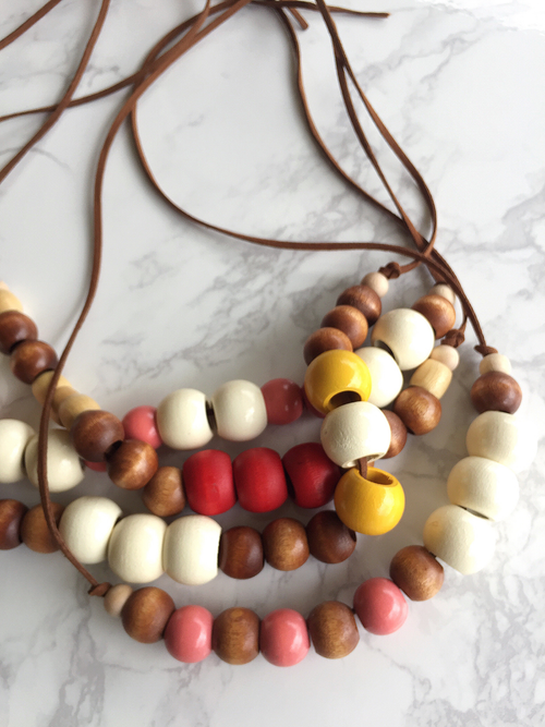 Image of Beaded Necklace No. 12