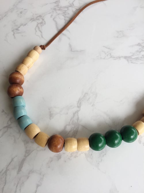 Image of Beaded Necklace No. 11