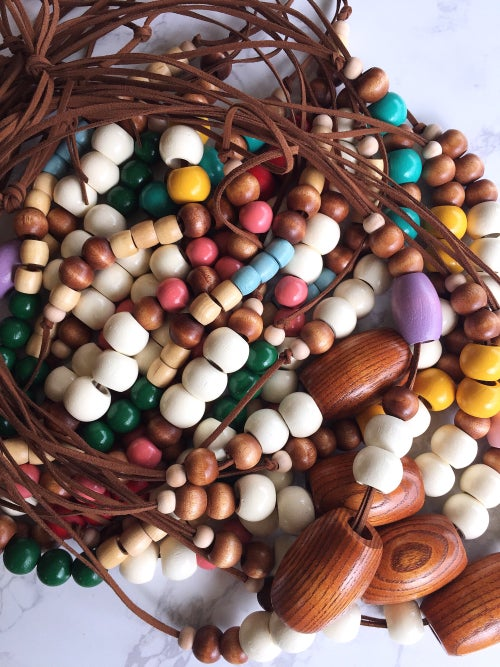 Image of Beaded Necklace No. 9