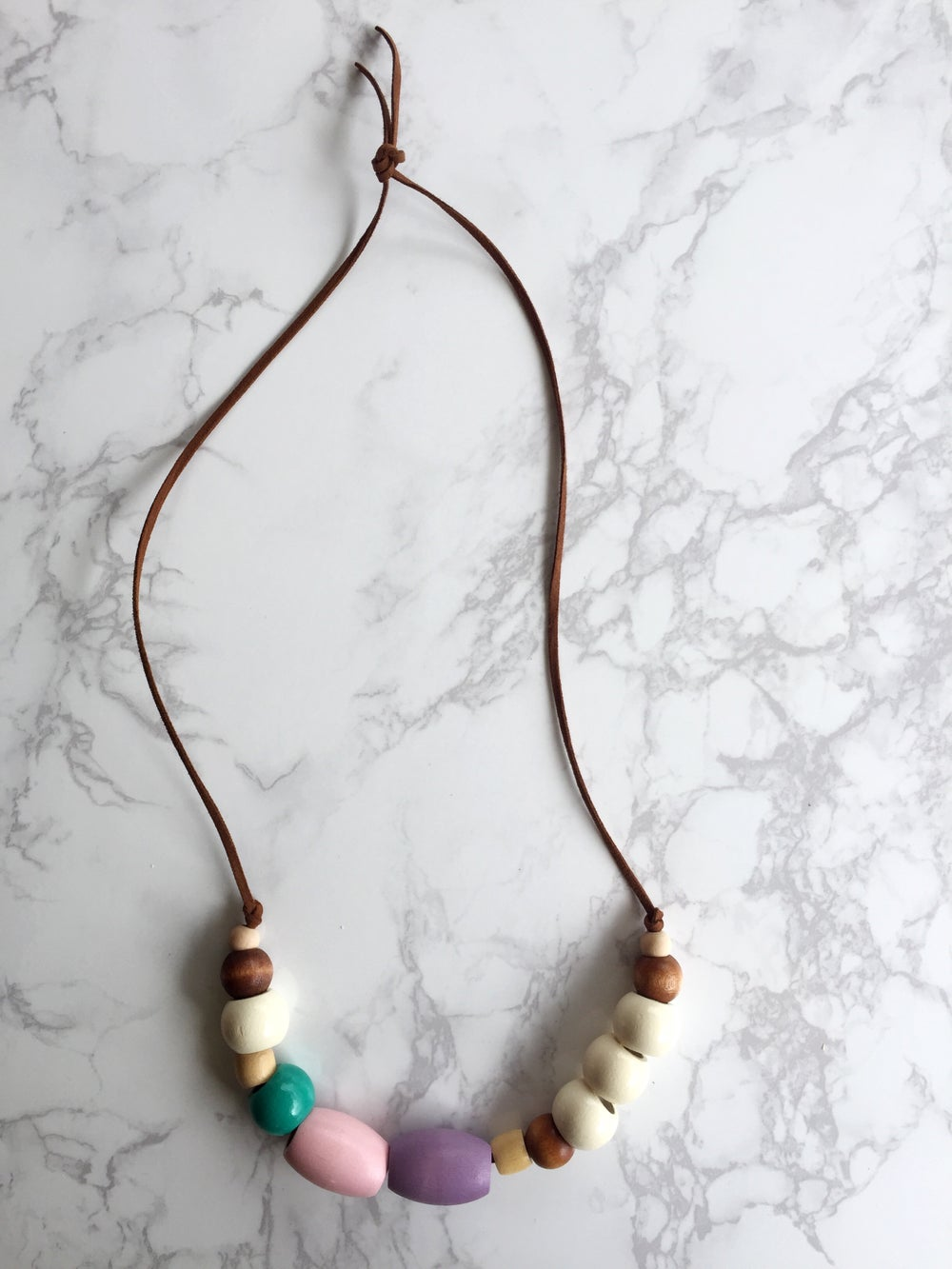 Image of Beaded Necklace No. 5
