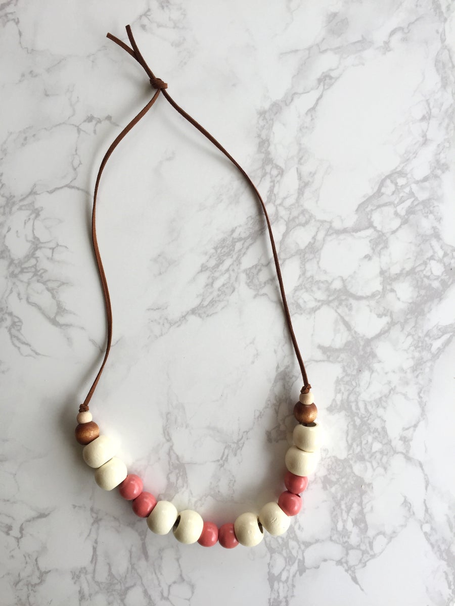 Image of Beaded Necklace No. 4