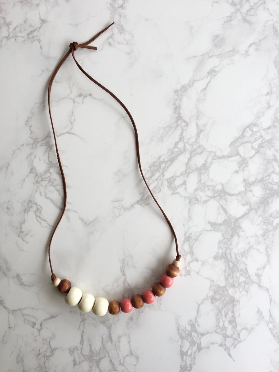 Image of Beaded Necklace No. 3