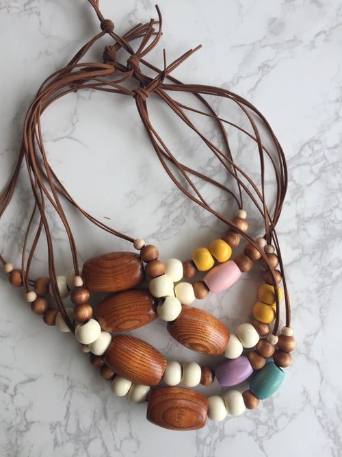 Image of Beaded Necklace No. 7