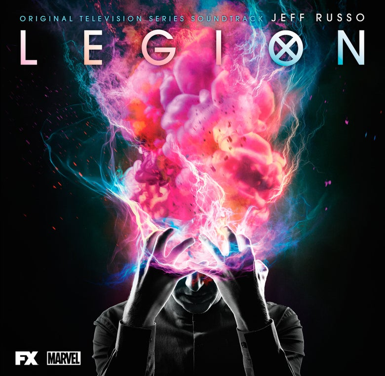 Image of Legion (Original Television Series Soundtrack) 2 x 'Pink Marble' Vinyl - Jeff Russo ***PRE ORDER***