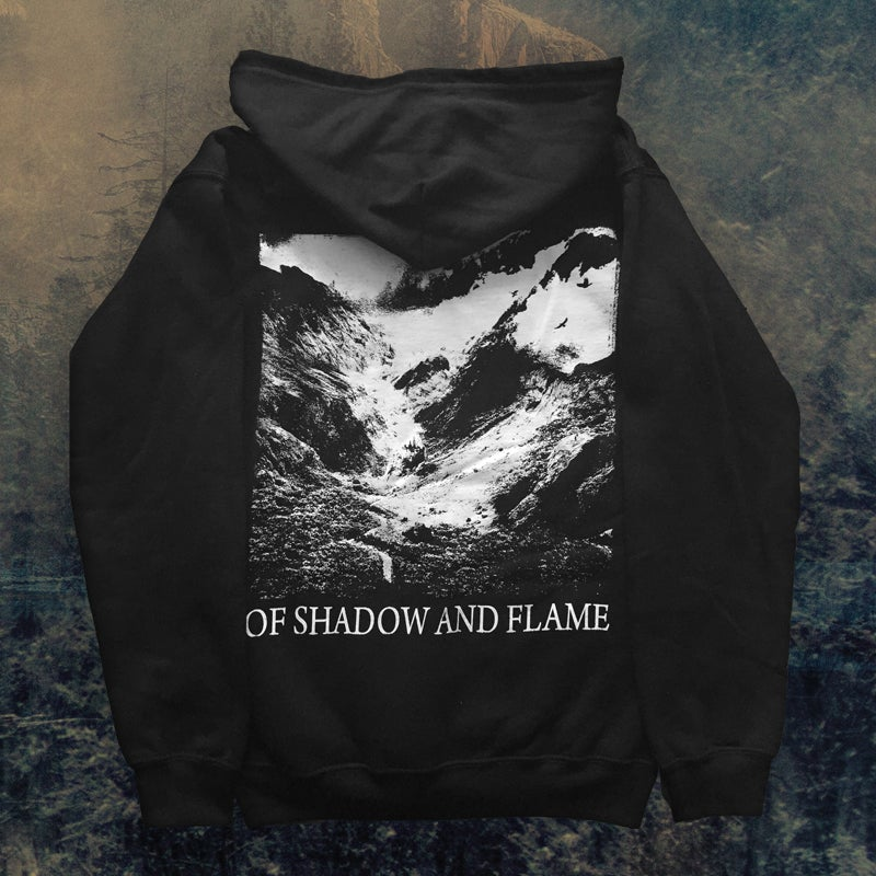 Image of Of Shadow and Flame - Zipper Hoodie