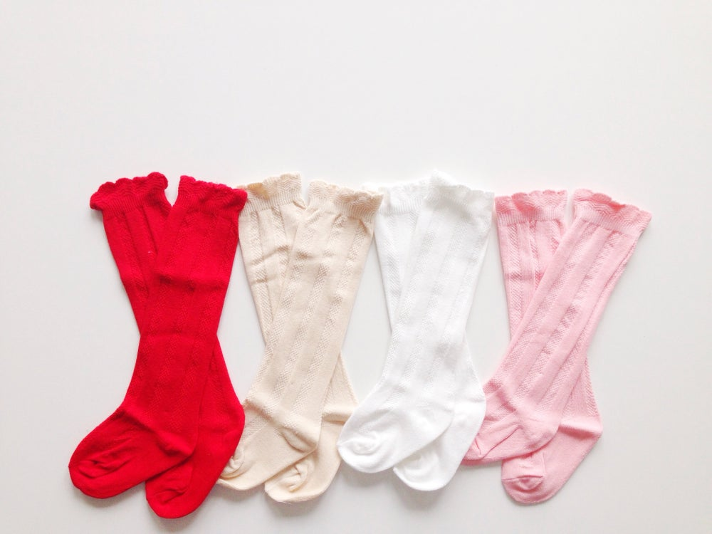 Image of Vintage Knee Socks