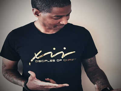"""Image of """"XII"""" Black & Gold Do Christ Tee"""