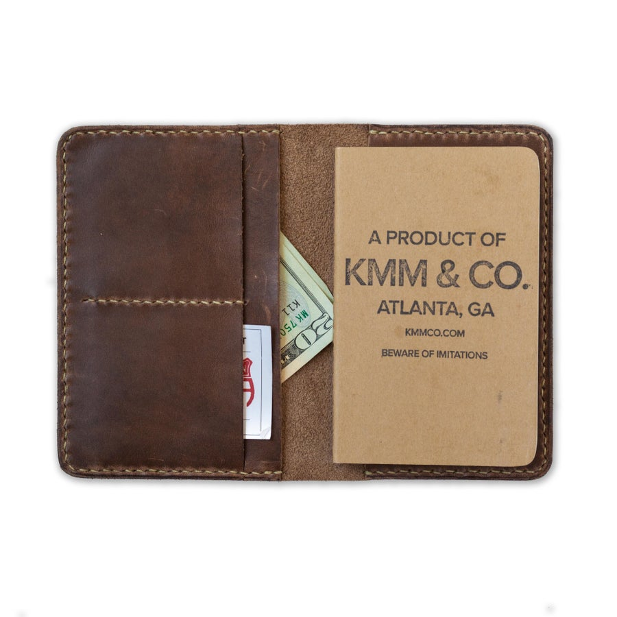 Image of Natural Notebook Wallet