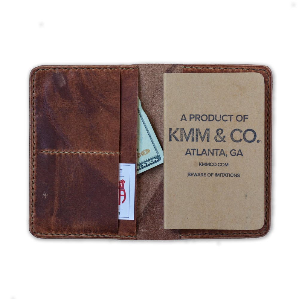 Image of Tan Dublin Notebook Wallet