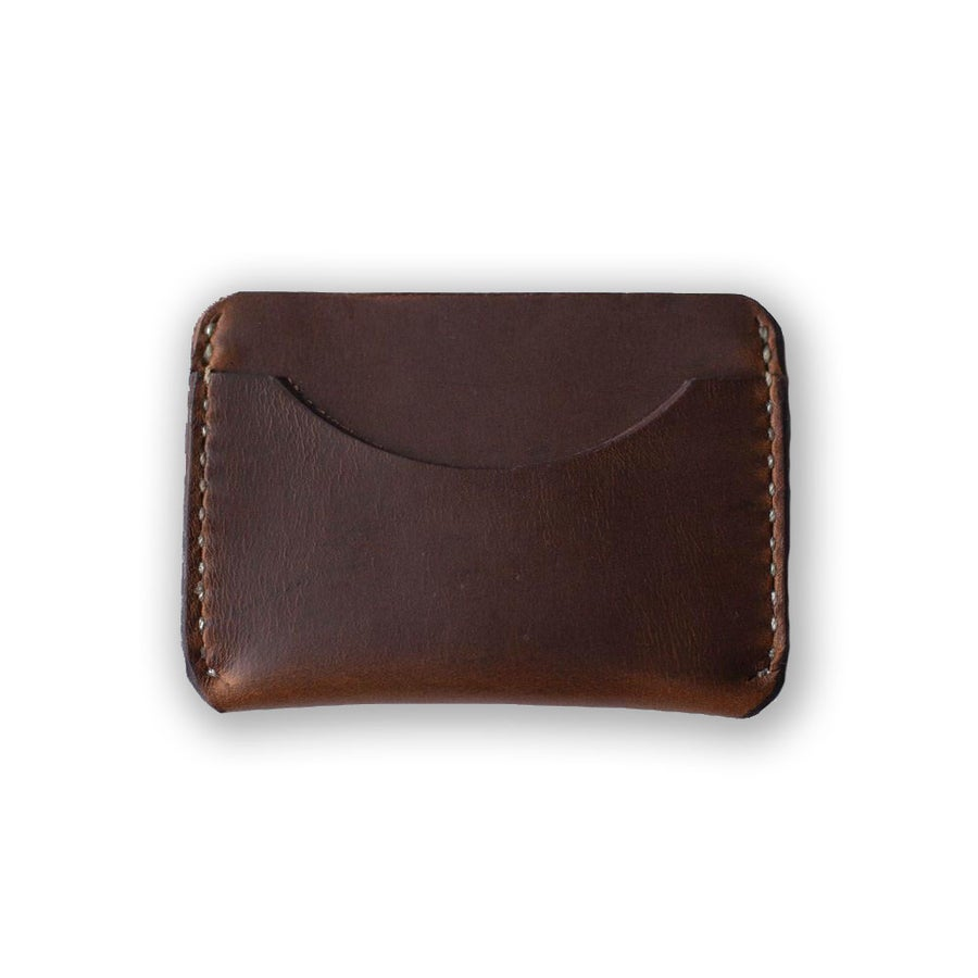 Image of Golden Brown Card Case