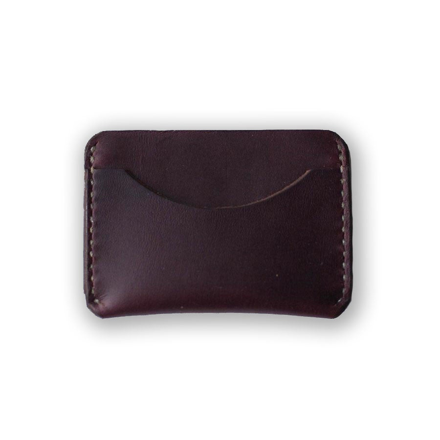 Image of Oxblood Card Case