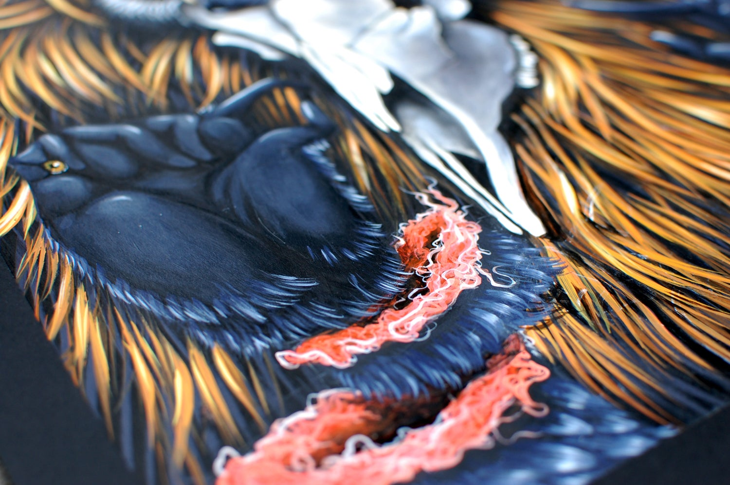 Image of BLACK FEATHERS STICK TOGETHER // LIMITED EDITION GICLEE PRINT