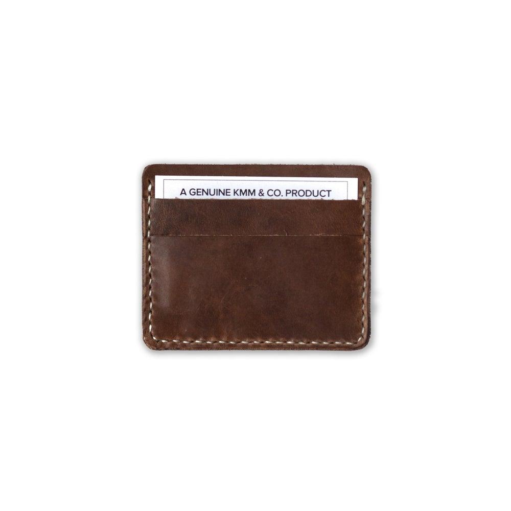Image of Brown Card Wallet