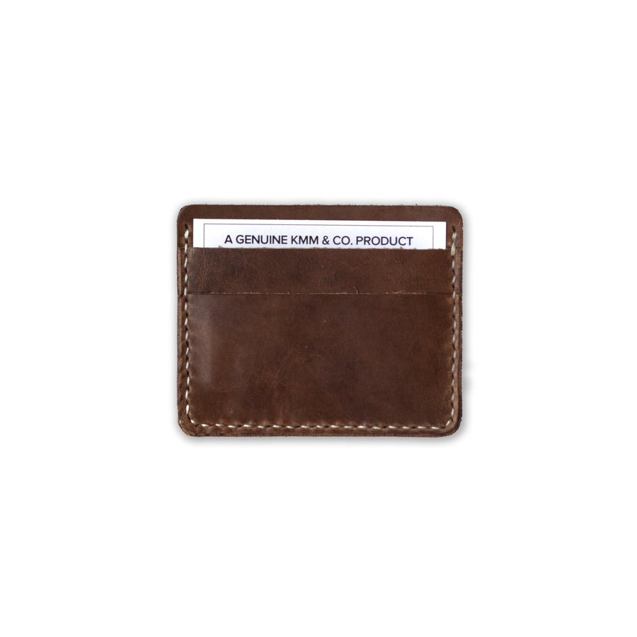 Image of Brown Card Wallet
