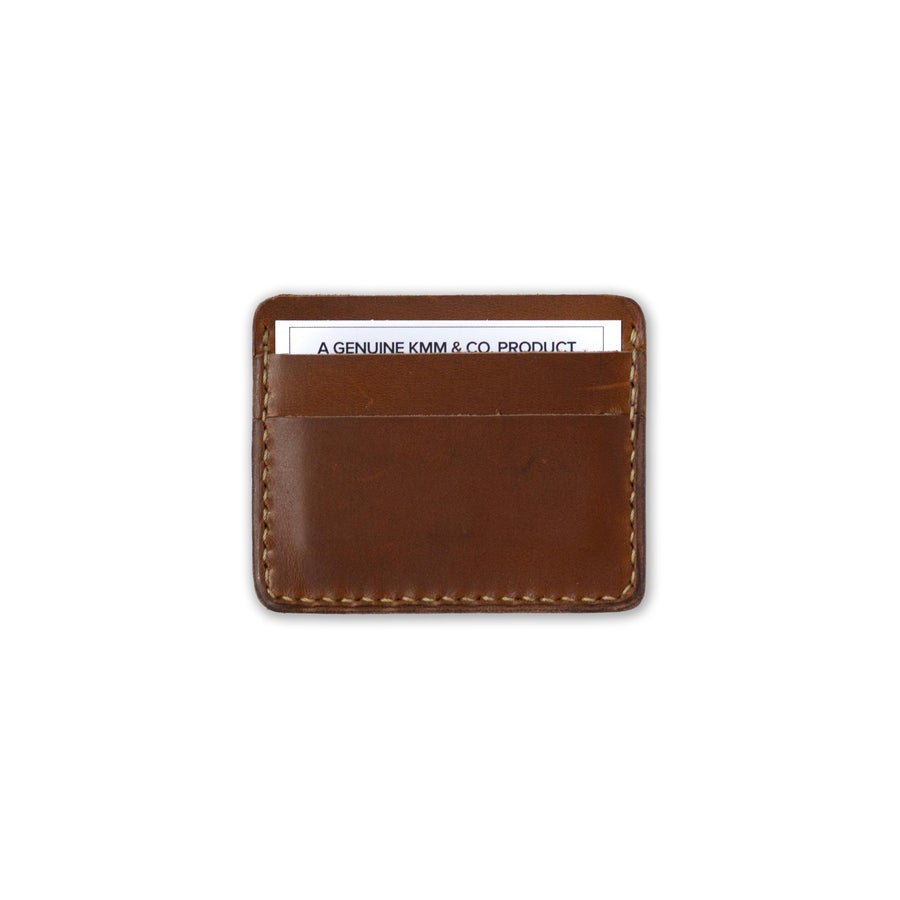 Image of Golden Brown Card Wallet