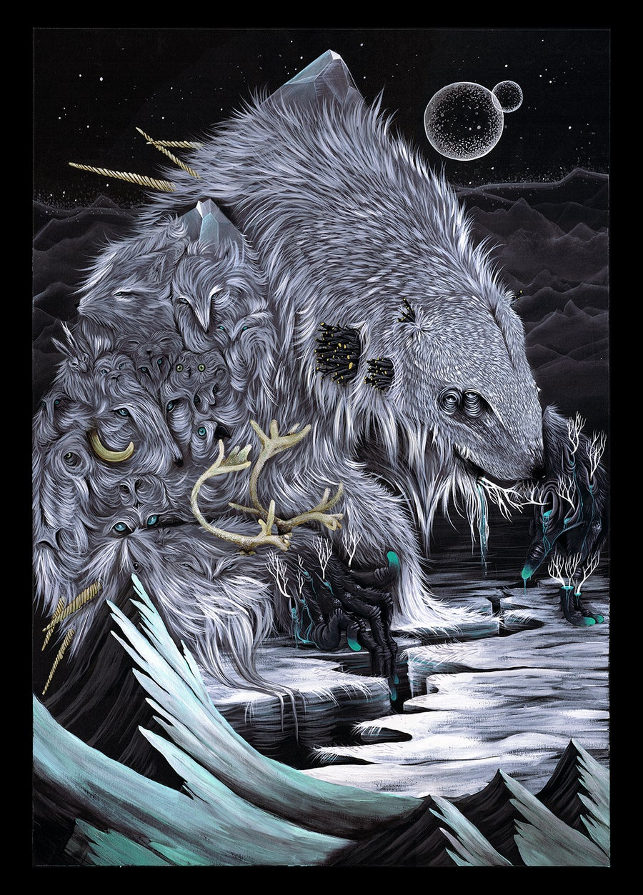 Image of CREATURE CULTIVATOR // LIMITED EDITION GICLEE PRINT