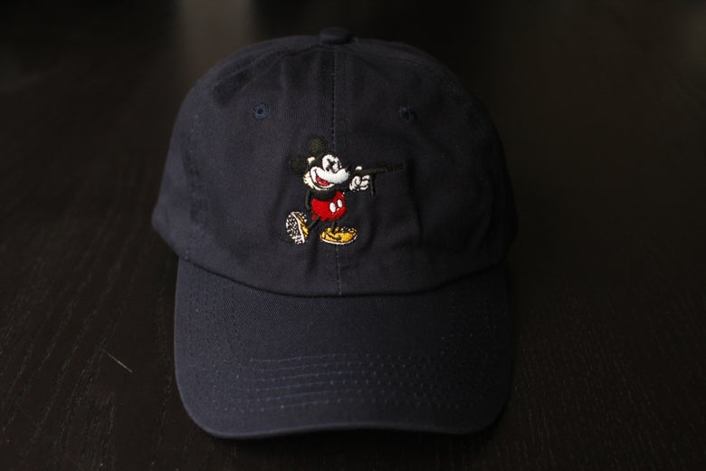 "Image of ""Reign of the Tec"" Dad Hat in Navy Blue"