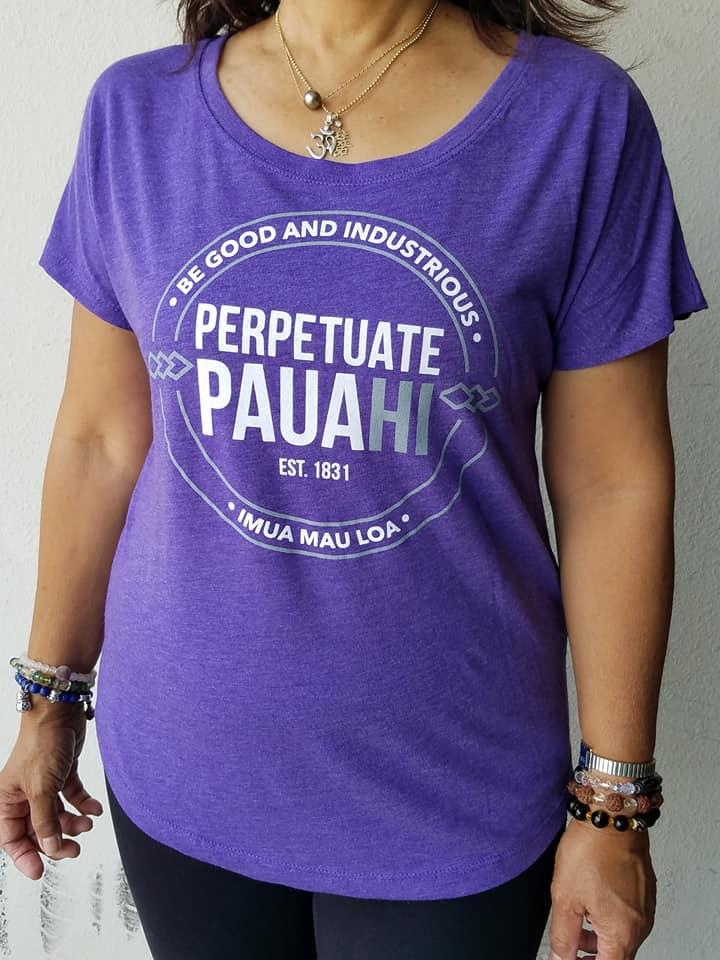 Image of Perpetuate Pauahi Shirt (Women's Dolman)