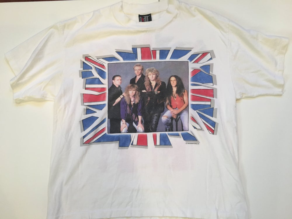 Image of Vintage Def Leppard Tee | 1992 Tour