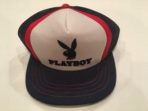 Image of Vintage Mesh Playboy Trucker Hat
