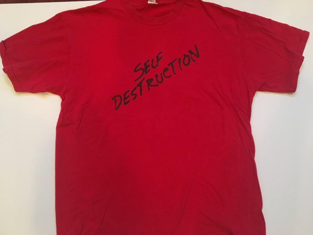 Image of KRS-One Self Destruction Vintage Tee | Stop the Violence Movement 1987
