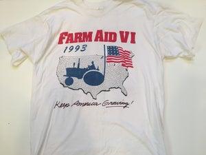 Image of Farm Aid VI 1993 Vintage Tee