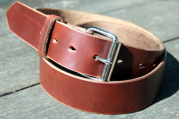 Image of Made to Measure Belt in Tan Horween Chromexcel