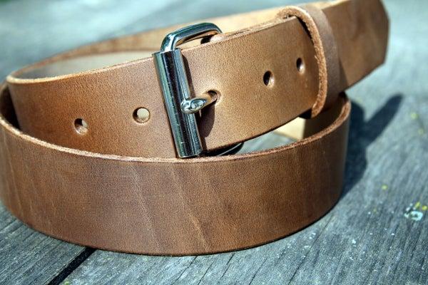 Image of Made to Measure Belt in Sand Seidel Latigo