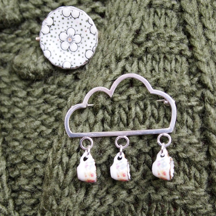 Image of Cloud Cup Pin