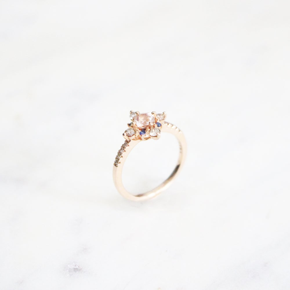 Image of Winter Forest Morganite Ring