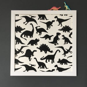 Image of Dinosaur Screen Print Poster