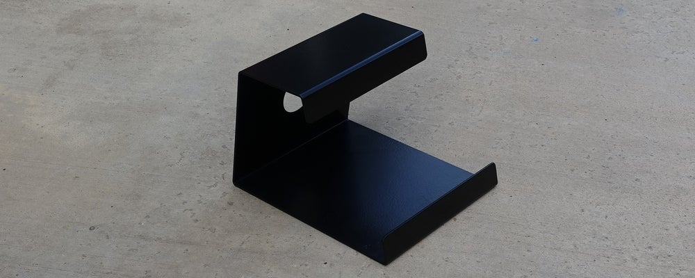 Image of Black Steel Anchor Stand for Onewheel
