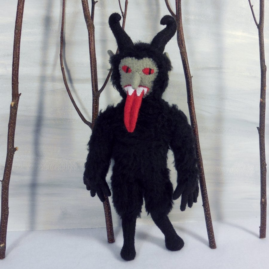 Image of Furry Krampus plush toy