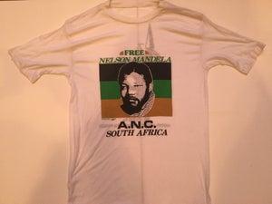 Image of Free Nelson Mandela Vintage Tee 1984
