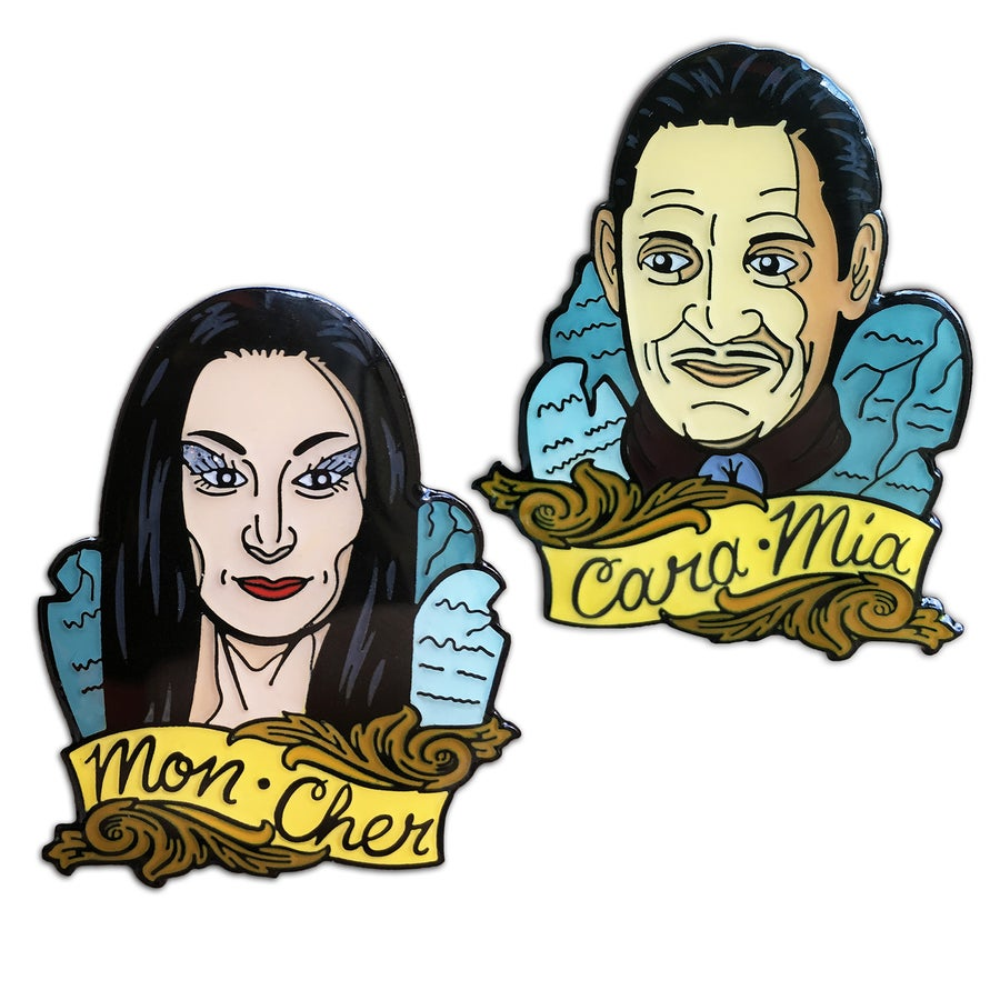 Image of The Addams  - Lapel Pin