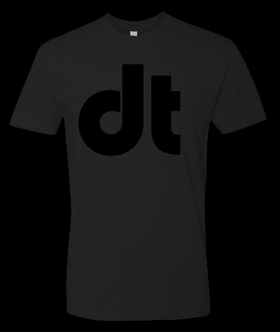 Image of Drumtacs DT Black on Black Shirt