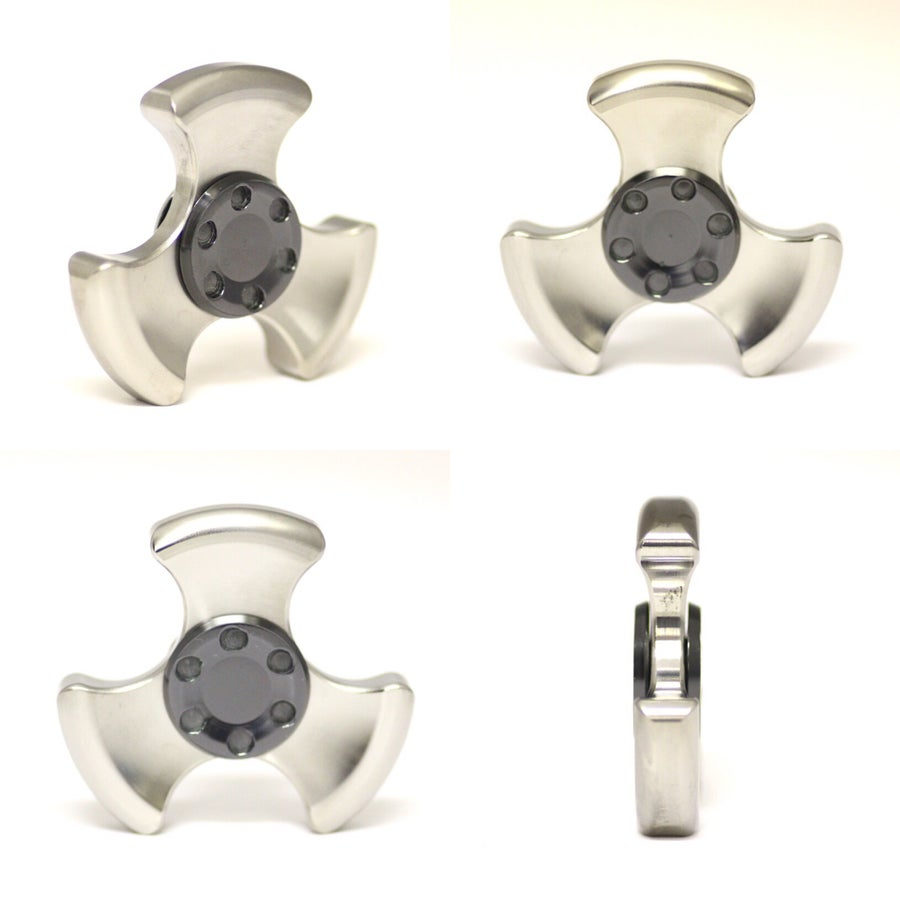 """Image of """"Oil Slick"""" Zirc Buttons"""