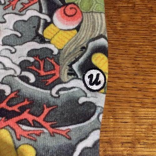 """Image of 3TIDES x UBIQ """"IREZUMI"""" SOCKS【Takarazukushi】"""