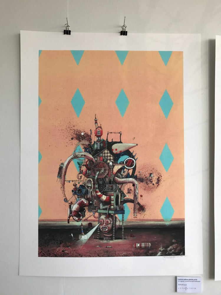 Image of Limited editional glitche prints