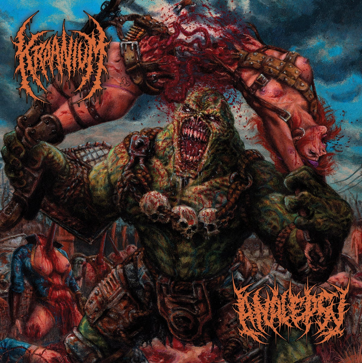 Rising Nemesis Records Kraanium Analepsy The