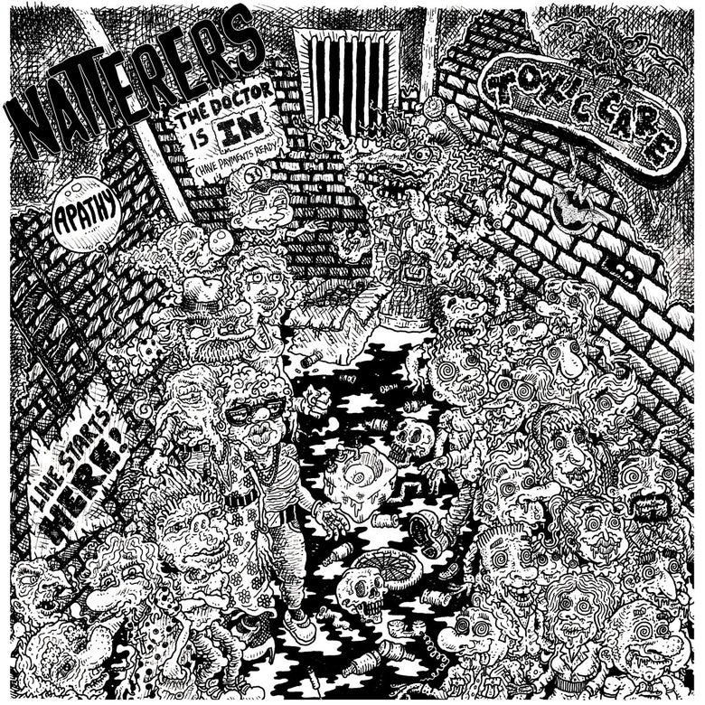 """Image of Natterers - Toxic Care 7""""EP"""