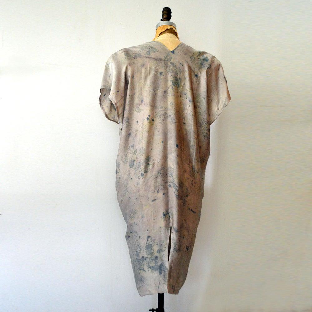 Image of Smokebush easy silk kaftan