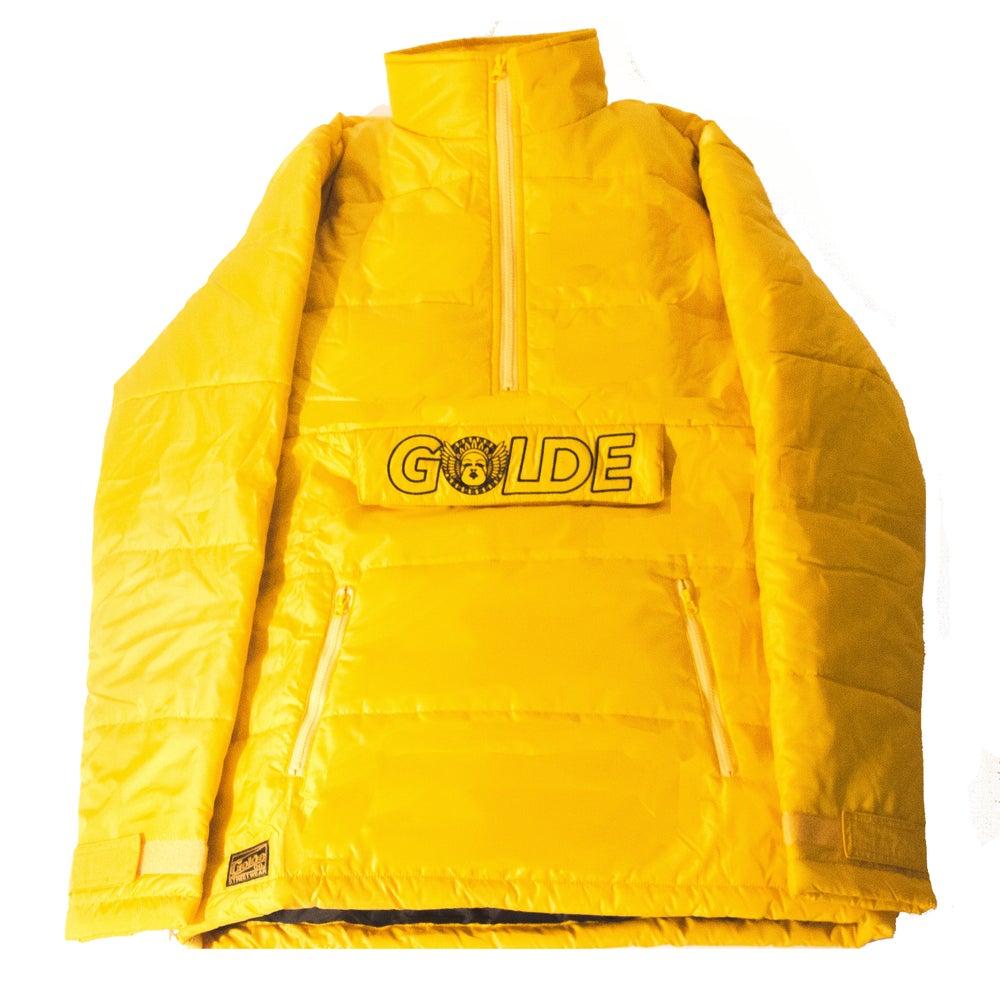 Image of Yellow Puffer Anorak