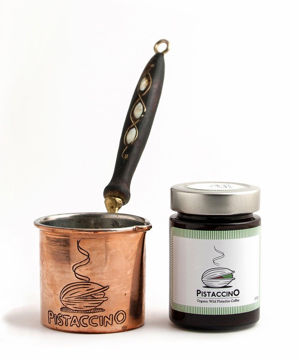 Image of Kombipaket Pistaccino & Kupferkanne