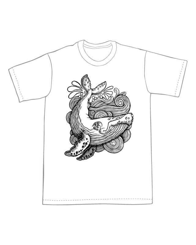 Image of Humpback Whale T-shirt **FREE SHIPPING**