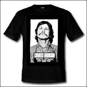 "Image of CHARLES BRONSON ""youth attack 1997"" - T Shirt"